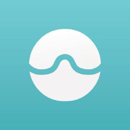 icone application bleue