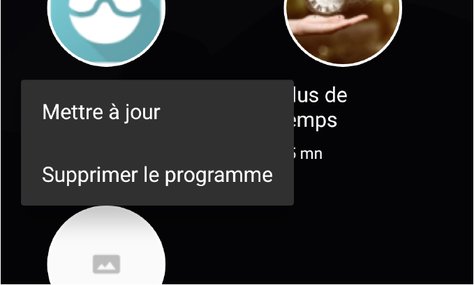 mettre a jour android