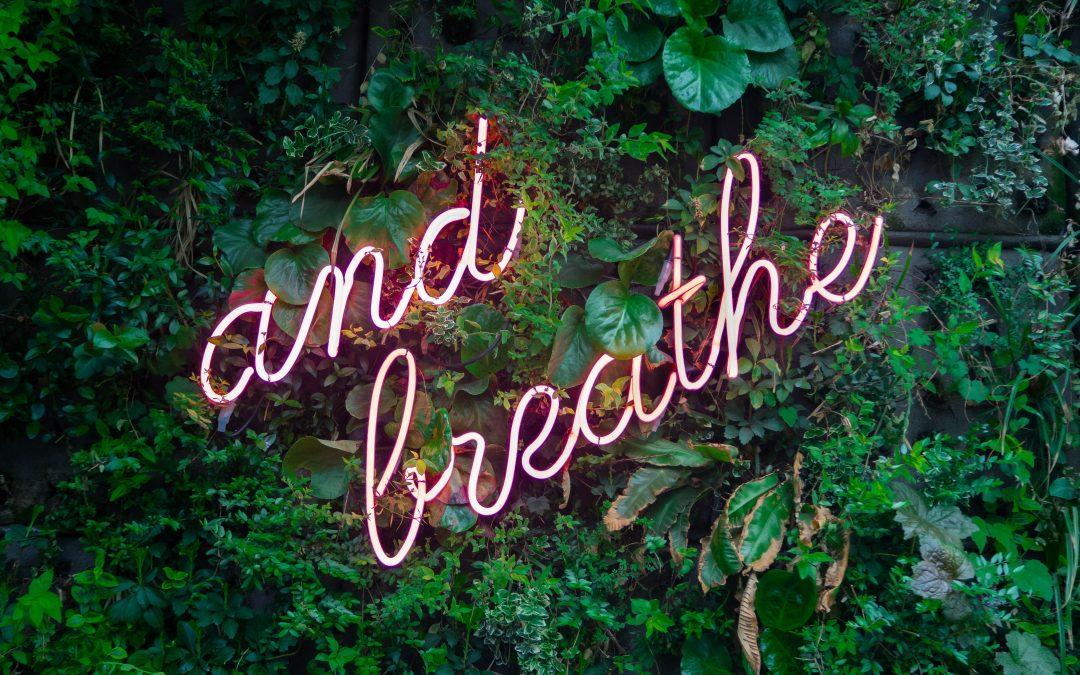 Et si on s'intéressait à notre respiration ?